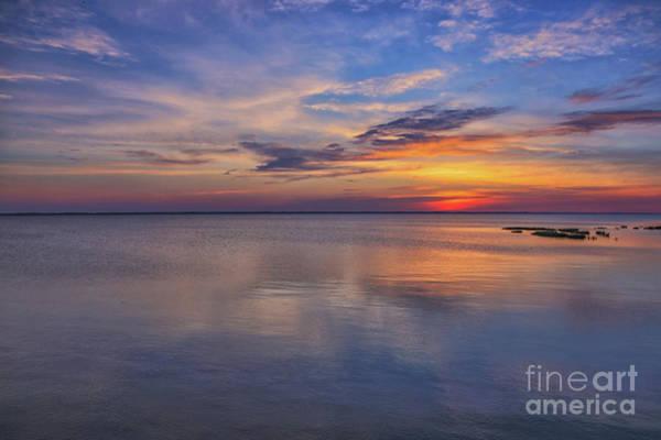 Wall Art - Digital Art - Beach Sunset Outer Banks One by Randy Steele