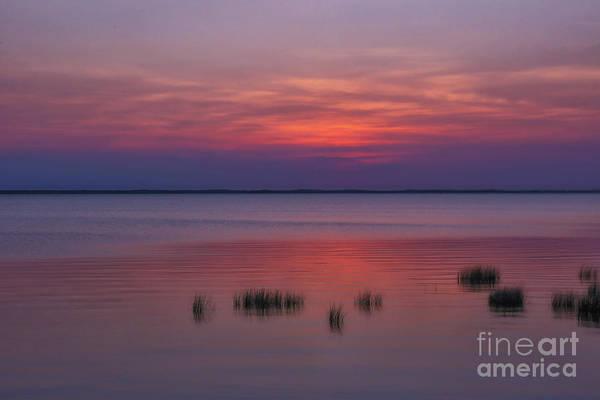 Wall Art - Digital Art - Beach Sunset Outer Banks Seven by Randy Steele