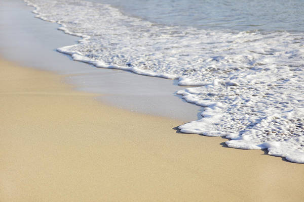 Wet Sand Photograph - Beach by Temmuzcan