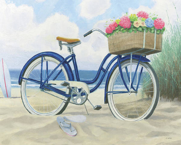 Cruiser Painting - Beach Time II by James Wiens
