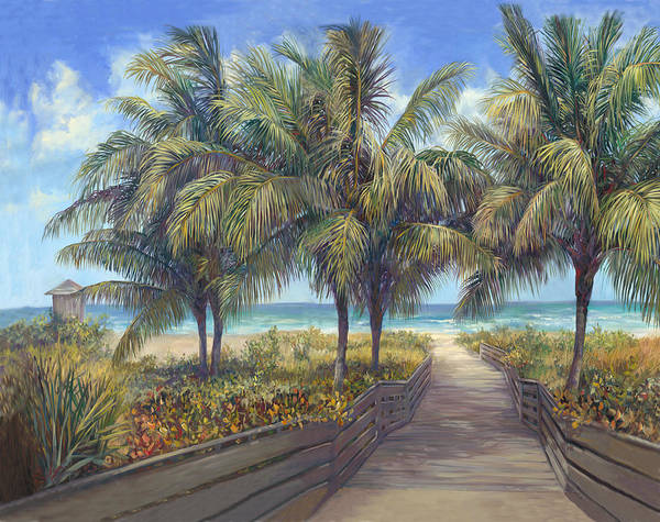 Sea Oats Painting - Beach Trip by Laurie Snow Hein