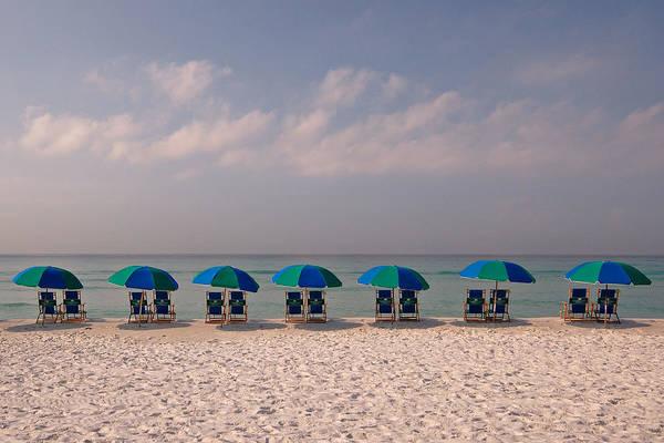Destin Photograph - Beach Umbrellas by Ben Darby