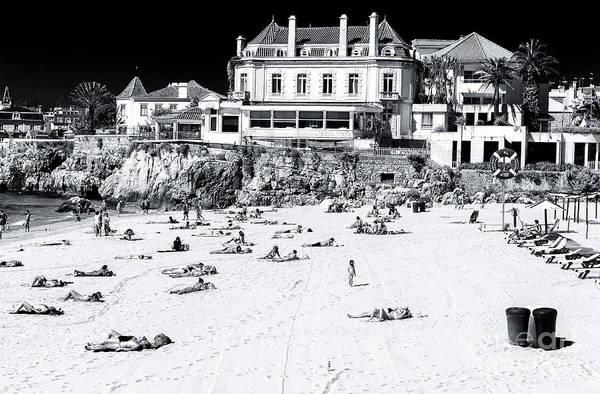 Wall Art - Photograph - Beach View At Praia Da Conceicao by John Rizzuto