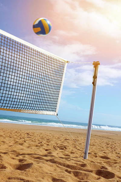 Wall Art - Photograph - Beach Volley by Carlos Caetano