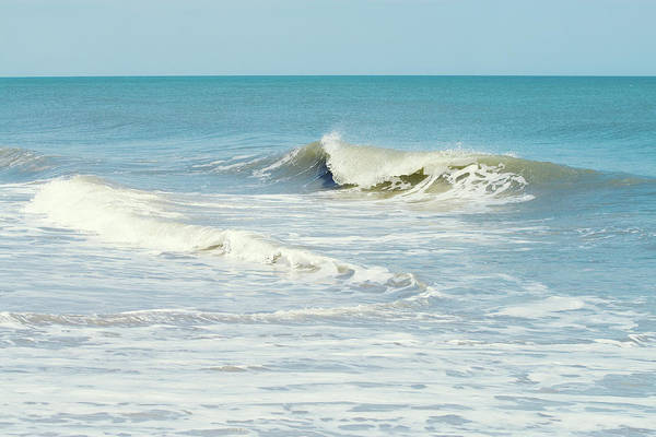 Wall Art - Photograph - Beach Wave Art by Stephanie McDowell