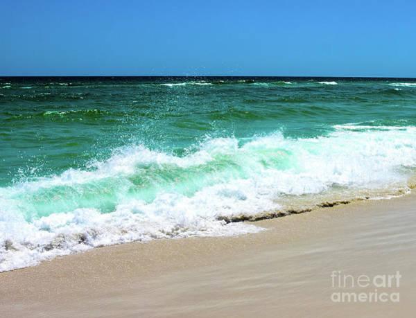 Photograph - Beach Wave Splash by Christine Dekkers