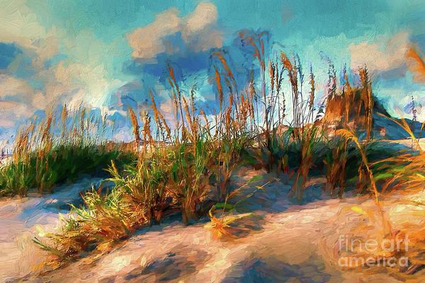 Wall Art - Painting - Beach Wonderland Ap by Dan Carmichael