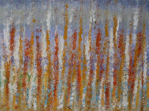 Painting - Beachgrass Original Painting by Sol Luckman