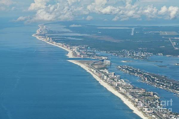Photograph - Beachmiles-5137-tm by Gulf Coast Aerials -