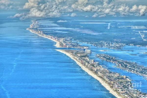 Photograph - Beachmiles-5137-tonemapped by Gulf Coast Aerials -