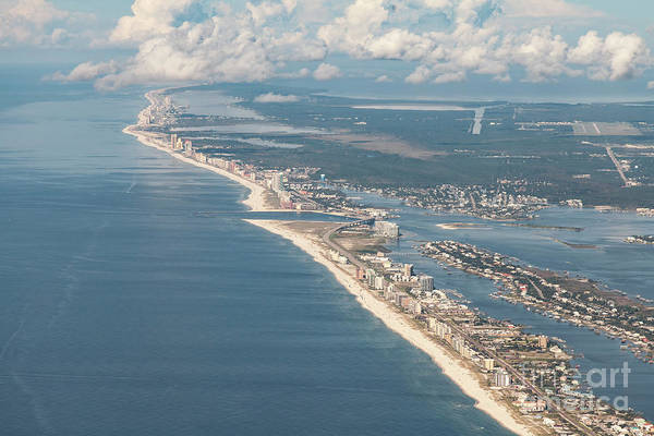 Photograph - Beachmiles-natural-5137 by Gulf Coast Aerials -