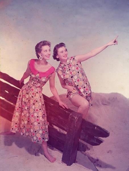 Kitsch Photograph - Beachwear Pair by Chaloner Woods