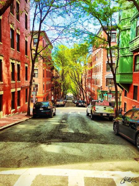 Photograph - Beacon Hill by Chris Montcalmo