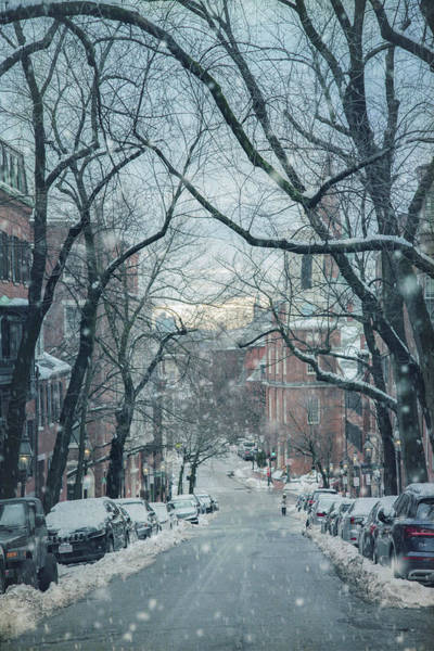 Photograph - Beacon Hill Morning Snow by Joann Vitali