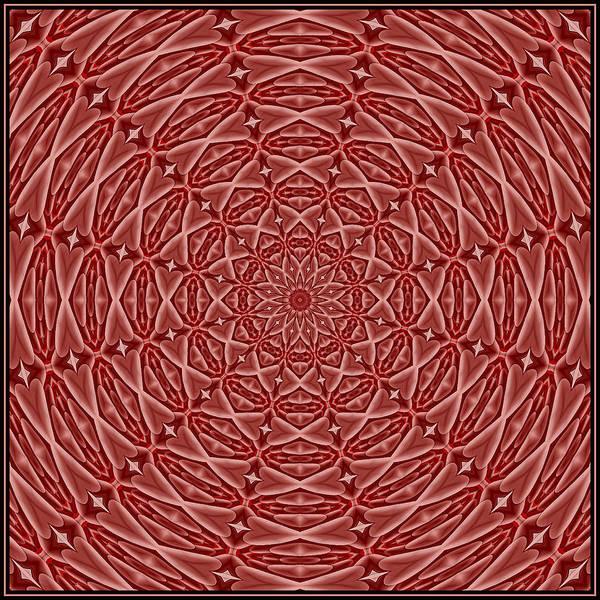 Digital Art - Beaded Treasure Tile K12-4 by Doug Morgan