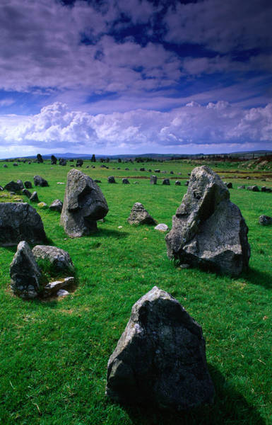 Ancient Photograph - Beaghmore Stone Circles Date From The by Gareth Mccormack