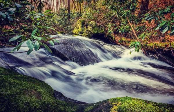 Photograph - Bear Creek Waterfall Long Exposure 2 by Keith Smith