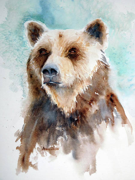 Painting - Bear Essentials by Anna Jacke