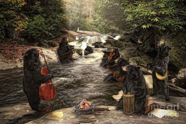 Bear Jam Art Print