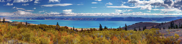 Photograph - Bear Lake Panoramic by Leland D Howard