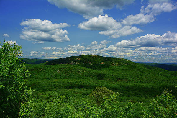 Photograph - Bear Mountain From West Mountain In June by Raymond Salani III