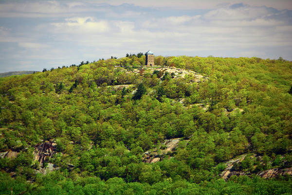 Photograph - Bear Mountain Tower Spring Springing by Raymond Salani III