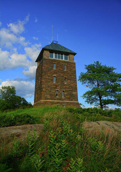 Photograph - Bear Mountain's Perkins Memorial Tower by Raymond Salani III