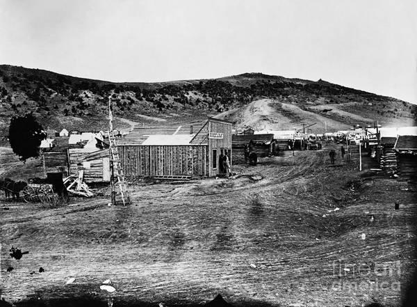 Photograph - Bear River City, 1867 by Granger