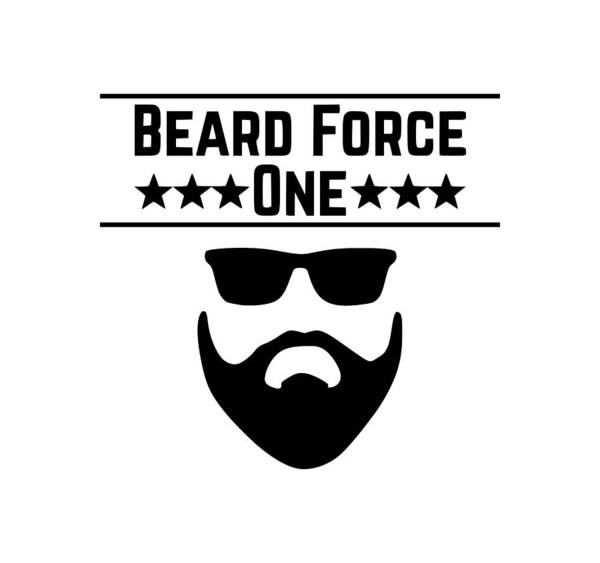 Hardrock Digital Art - Beard Force by Tee Titan