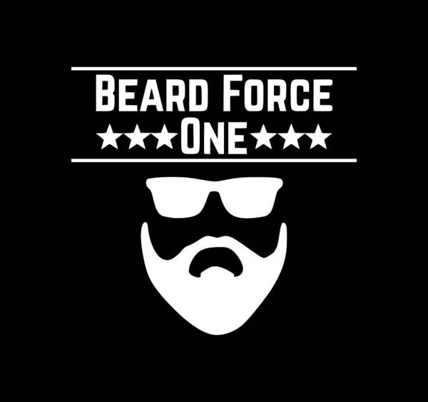 Hardrock Digital Art - Beard Force1 by Tee Titan