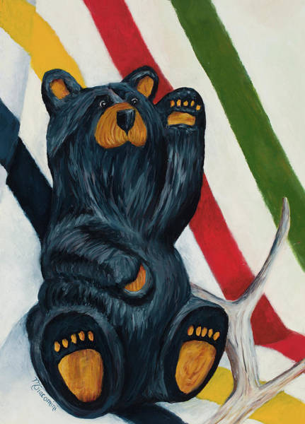 Wall Art - Painting - Bearly A Still Life by Mary Giacomini