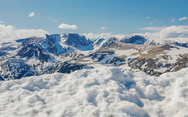 Photograph - Beartooth Mountains In Snow by Dan Sproul