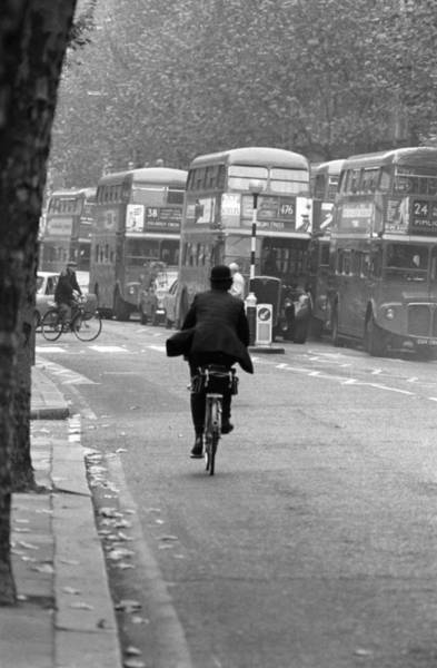 1972 Photograph - Beat The Traffic by Graham Wood
