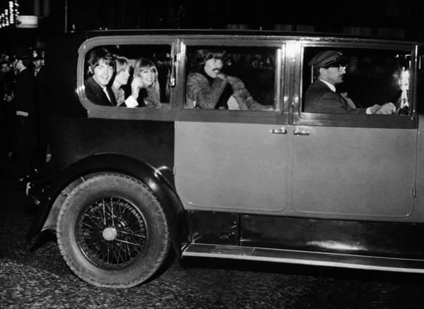Boyd Photograph - Beatles At Film Premiere by Keystone