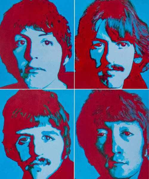 Wall Art - Painting - Beatles by Austin James