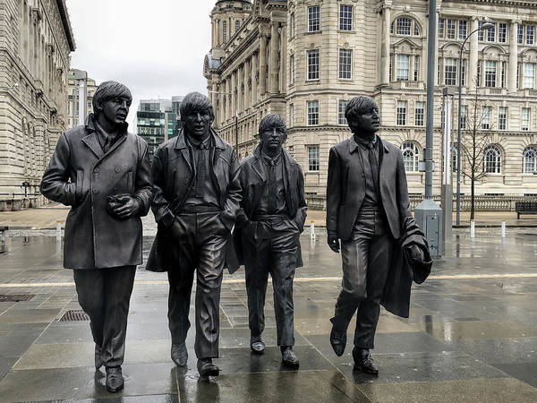 Wall Art - Photograph - Beatles Band Tribute - Liverpool by Daniel Hagerman