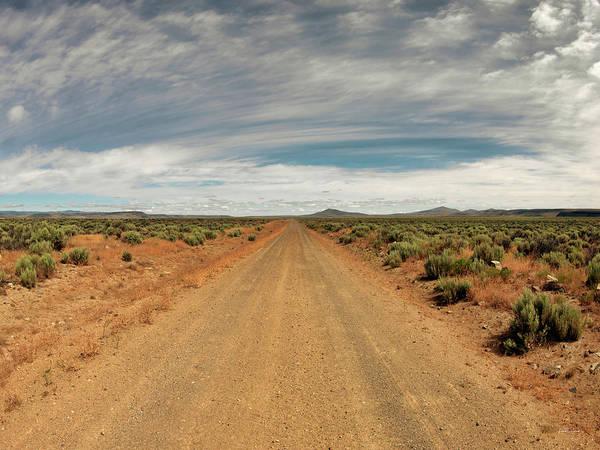 Photograph - Beaty Butte Road by Leland D Howard