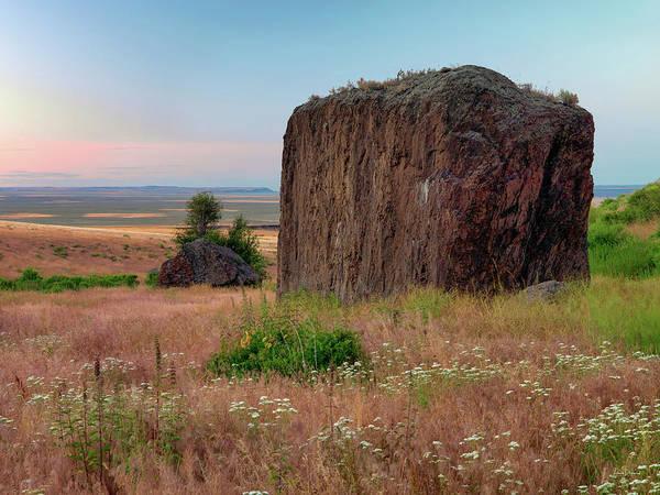 Photograph - Beaty Butte Stillness by Leland D Howard