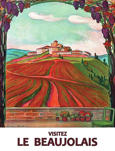 Wall Art - Digital Art - Beaujolais  by Long Shot
