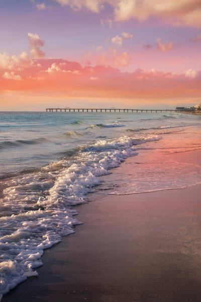 Wall Art - Photograph - Beautiful Beach Day by Debra and Dave Vanderlaan