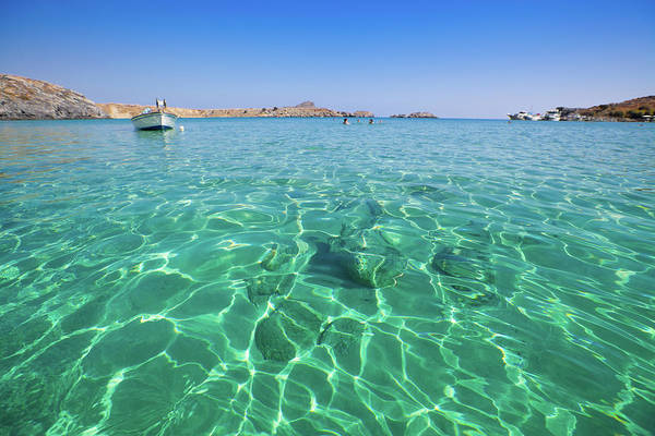 Dodecanese Photograph - Beautiful Beach In Greece by Anzeletti
