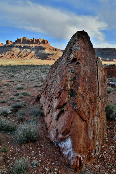 Photograph - Beautiful Boulder On Utah 313 by Ray Mathis