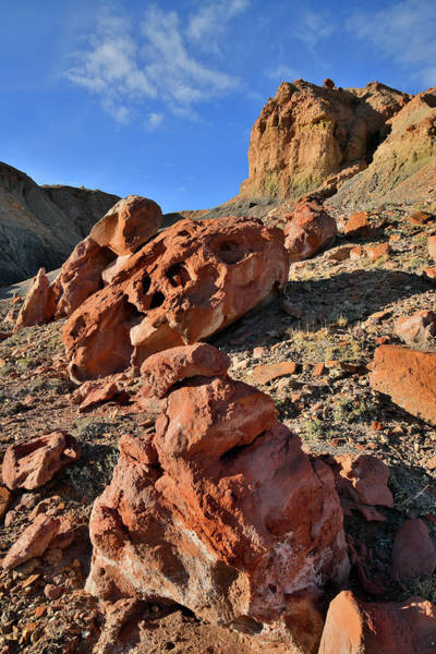 Photograph - Beautiful Boulders In Millers Canyon Along I-70 In Utah by Ray Mathis
