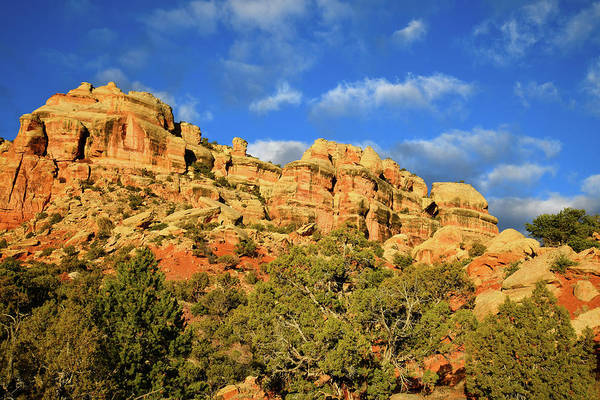 Photograph - Beautiful Buttes Of East Side Colorado National Monument by Ray Mathis