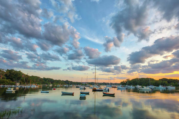 Photograph - Beautiful Cape Cod Quissett Harbor  by Juergen Roth