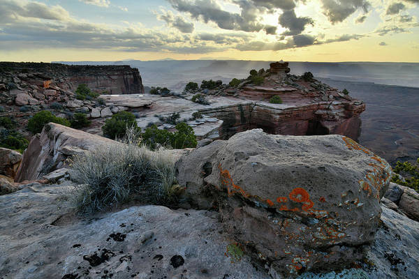 Photograph - Beautiful Cliffs Of Canyonlands At Sunset by Ray Mathis
