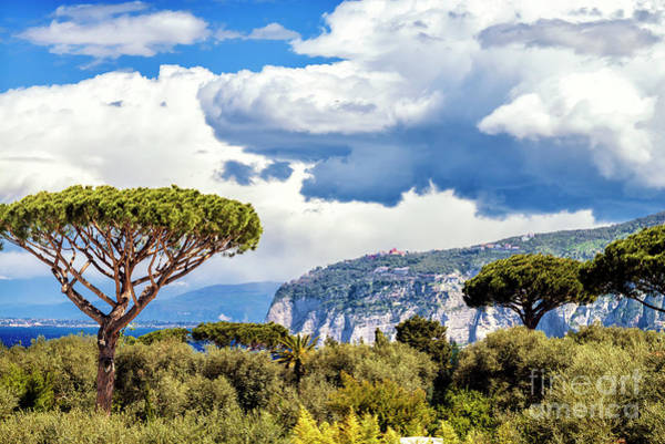 Wall Art - Photograph - Beautiful Clouds In Sorrento Italy by John Rizzuto