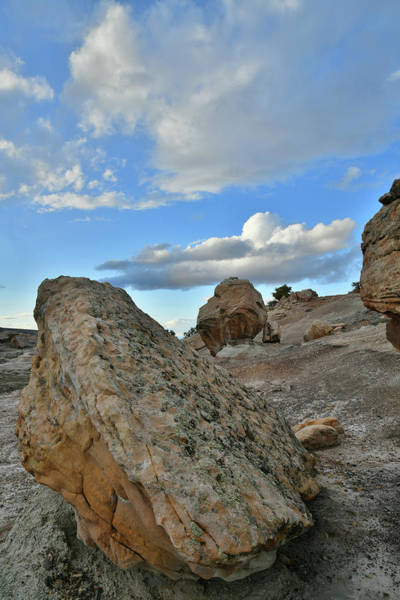 Photograph - Beautiful Clouds Over Blm Bentonite Site by Ray Mathis