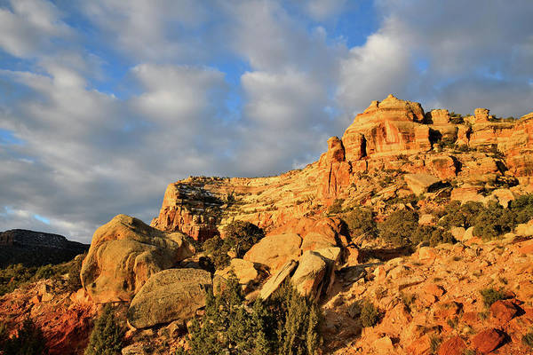 Photograph - Beautiful Clouds Over Rim Rock Drive by Ray Mathis