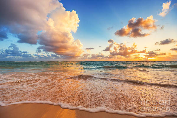 Wall Art - Photograph - Beautiful Cloudscape Over Caribbean by Valentin Valkov